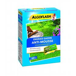 Engrais gazon anti-mousse 3kg pour 100m - ALGOFLASH