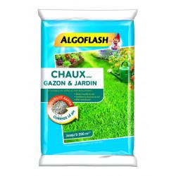 Chaux pour gazon 10kg pour 200m - ALGOFLASH