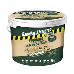 Anti-fourmis ter/diatom.bar/insect® seau 2kg - BARRIERE A INSECTES GREEN