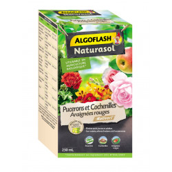 Insecticide pucerons cochen.acariens naturas.250 - ALGOFLASH
