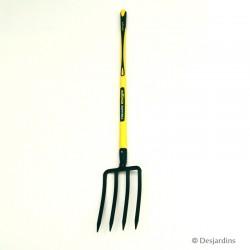 Fourche à bêcher Fiskars douille - 4 dents triangulaires - 8mm