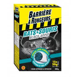 Rats&souris blocs-appats bar/rongeurs 300g - BARRIERE A RONGEURS