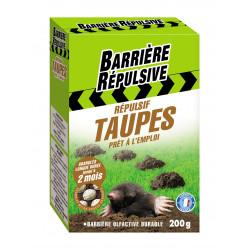 Répulsif taupes granulés 2x100g - BARRIERE REPULSIVE