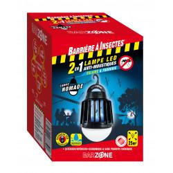 Lampe moustiques nomade 2en1  - BARRIERE A INSECTES