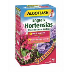 Engrais hortensias/rhododendrons 2en1 1kg - ALGOFLASH