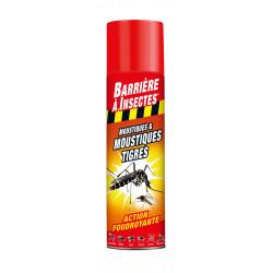 Aérosol moustiques et moustiques tigres 400ml - BARRIERE A INSECTES