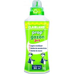 Engrais gazon liquide prop'gazon 3 en 1 1l - CLAIRLAND