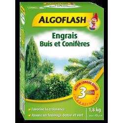 Engrais buis conifères action longue durée 1.8kg - ALGOFLASH