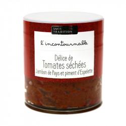 Délice tomate, jambon de pays, piment 100g - SAVOR ET SENS
