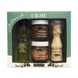 Coffret autour de l'olive 410g - SAVOR ET SENS