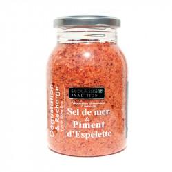 Recharge sel piment d'Espelette 600g - SAVOR ET SENS