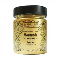 Moutarde aux brisures de truffe 130g - SAVOR ET SENS