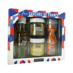 Coffret Autour des saveurs de France 325g - SAVOR ET SENS