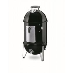 Fumoir Smokey Mountain Cooker 37 cm noir + houss - WEBER