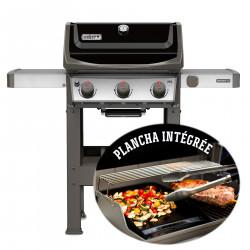Barbecue gaz Spirit II E-310 noir plancha. - WEBER