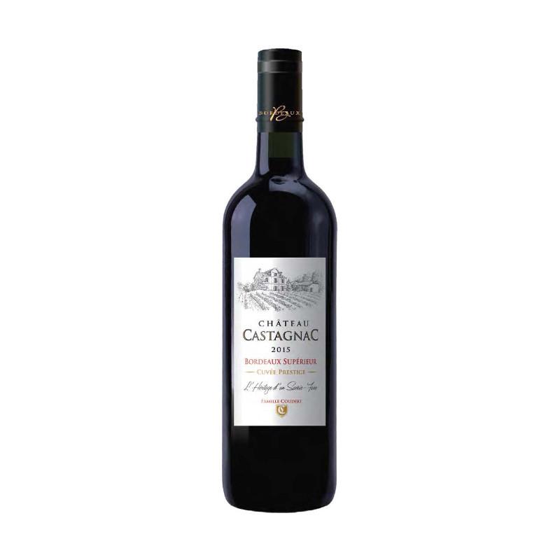 Bordeaux supérieur rouge cuvée Tradition 75 cl - CHATEAU CASTAGNAC