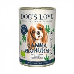 Canna Canis bio chien - poulet et chanvre 400g - DOG'S LOVE