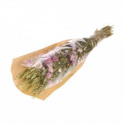 Bouquet séché violet/vert - NATURALYS