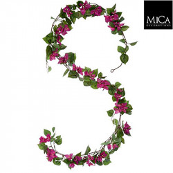 Bougainvillea guirlande rose - l180xb18xh10cm - MICA