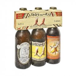 Pack 3 bières Northmaen 33...