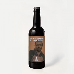 Bière ambrée 75 cl - LES...