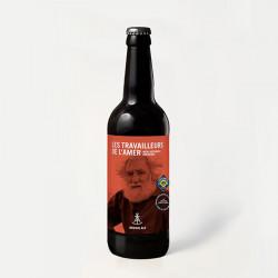 Bière brown ale 75 cl - LES...