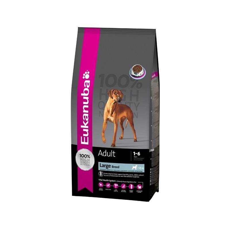 croquettes eukanuba pour chien adulte de grande race. Black Bedroom Furniture Sets. Home Design Ideas