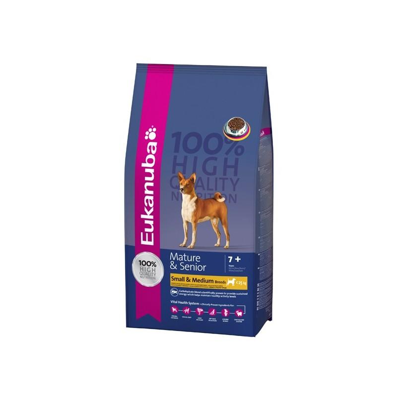 croquettes eukanuba pour chien senior petite moyenne race. Black Bedroom Furniture Sets. Home Design Ideas