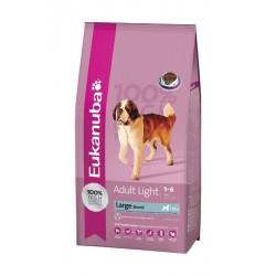 Croquettes Eukanuba Light pour chien de grande race - 15kg