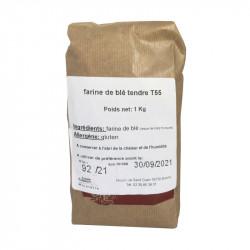 Farine de blé T55 1 kg - MINOTERIE LOUIS CAPRON