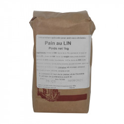 Farine pain au lin 1 kg - MINOTERIE LOUIS CAPRON