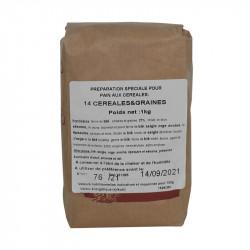 Farine pain aux céréales 1 kg - MINOTERIE LOUIS CAPRON