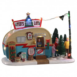 TED'S TREE LOT B/O - LEMAX
