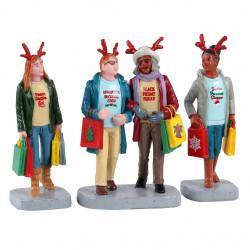 GIRLS CHRISTMAS SHOPPING TRIP  - LEMAX