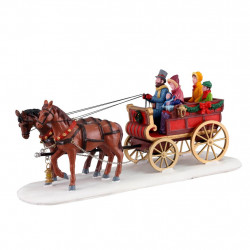 CARRIAGE CHEER - LEMAX