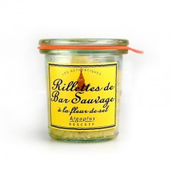 Rillettes de bar sauvage - 105g