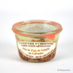 Terrine de foie de volaille au Calvados - 270g