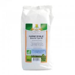 Farine de blé bio blanche T55 - 1kg