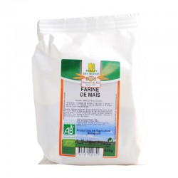 Farine de maïs bio - 500g