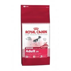 Croquettes Royal Canin pour chien adulte de taille moyenne - 15kg