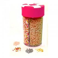 Boîte distributrice multiperle de sucre