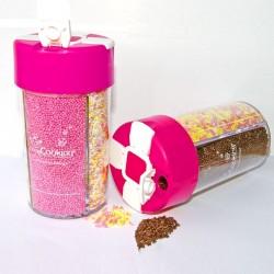 Boîte distributrice de sucre aux colorants naturels - 160 g