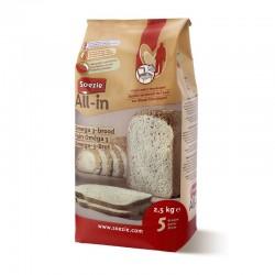 Farine All-in pour pain aux Oméga 3 - 2.5kg