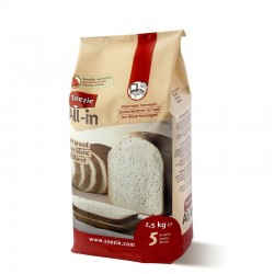 Farine All-in pour pain blanc - 2.5kg
