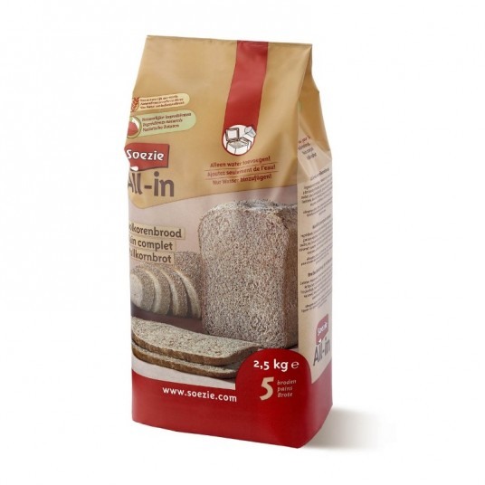 Farine All-in pour pain complet - 2.5kg