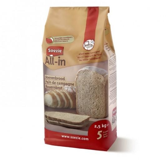 Farine All-in pour pain de campagne - 2.5kg