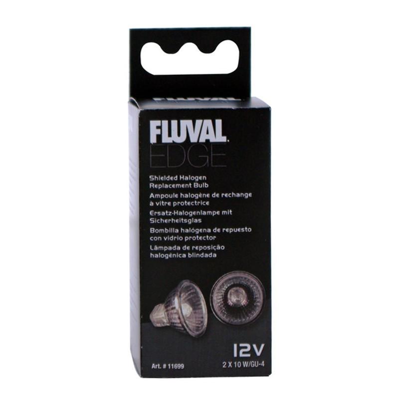 Ampoules halogène pour aquarium Fluval Edge - Hagen - 2x10W