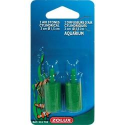 Lot de 2 diffuseurs d'air Zolux cylindriques - L3 CM
