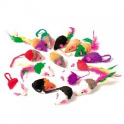 24 souris fourrure Zolux