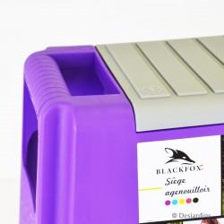Siège agenouilloir AJS violet
